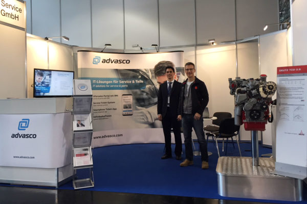 Agritechnica 2017 - Der advasco Messestand