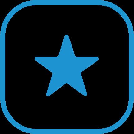 Stern-Icon für besondere Merkmale | advasco IT-Lösungen
