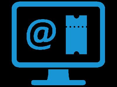 E-Mail to Ticket   advasco - icon blue
