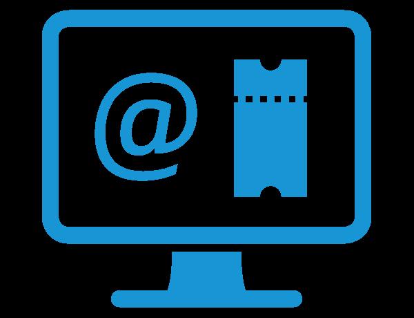 E-Mail to Ticket | advasco - icon blue