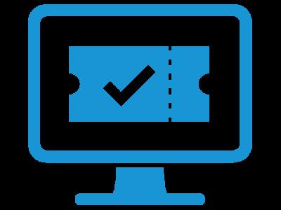 Service-Ticket-System - advasco   icon blue